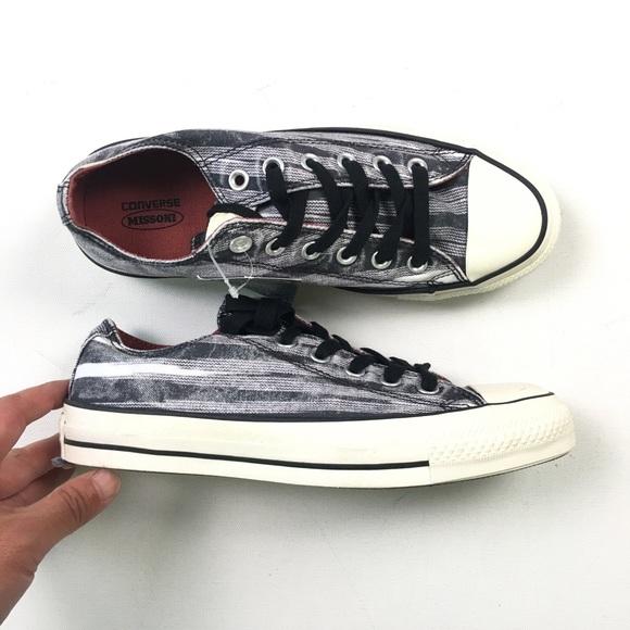 affa92b73277 Converse Womens Missoni Chuck Taylor Shoes 8 13